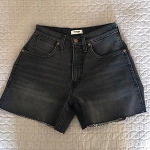 Wrangler High Waist Shorts